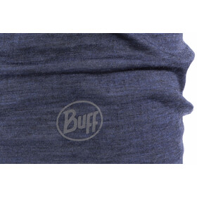 Buff Lightweight Merino Wool Neck Tube Kinder solid denim